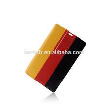 USB Card USB business card 2GB4GB8GB16GB FCC/CE/ROHS credit card USB Custom Solution Full printing LOGO on both sides