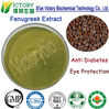 100% natural powdered form yellow fenugreek seeds