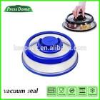 "blue 7"" PresssDome Vacuum Food Container Seal food storage vacuum pump"