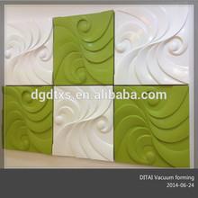 POP decorative 3D wall board 3D wall panel