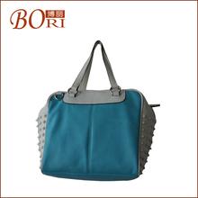 leather strap canvas ladies handbags 2012 burlap jute tote bag
