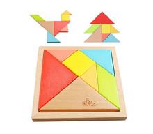 wood tangram puzzle