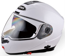 YM-923 double visor flip-up motorcycle helmet