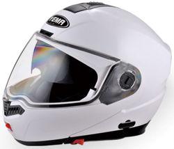 YM-923 double visor flip-up motorcycle helmet