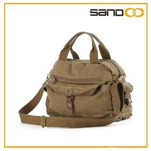 2014 BSCI audit factory tote canvas laptop men's messenger bag, China manufacturer messenger bag