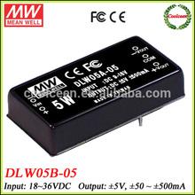 Meanwell DLW05B-05 36v to 5v -5v dc converter