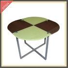 alibaba express fold-in-half round custom granite dining table