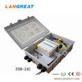 Ftth de fibra óptica rescisão caixa( gabinete) da série