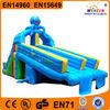 Fantastic professional manufactuer blue shining inflatable octopus slide