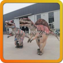 Foam Dinosaur Walking With Dinosaur Costume Hide Legs
