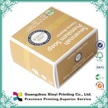 Custom small handmade wholesale paper soap box