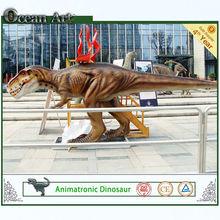 Newfangled product sculpture from ocean art simulation dinosaur