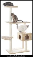 Cat tree with condo cat tree furniture scratcher