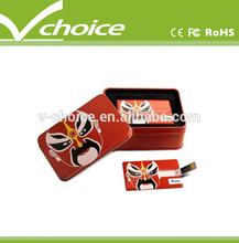 2014 hot sale cheapest card usb flash drive