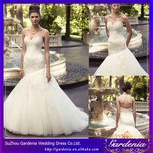 Mermaid Sweetheart Open Back Lace Applique Court Train Indian Pakistani Bridal Dresses