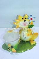 2014 Canton fair metal garden miniature flower pots