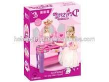 2014 New plastic kids toy beauty dress up playset