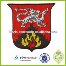 custom cotton patch badge kung fu uniform