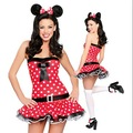Sexy minnie mouse trajes fancy dress costumes minnie mouse CW-1919