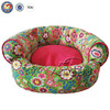 Free shipping ! Flower luxury pet dog beds with removable cushion