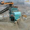 Minería de arena y minería magnetizada del mineral de hierro en méxico