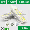 5-12w E27 E26 B22 base availiable led pl light bulb lamp ip44