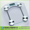 6mm clear tempered float glass panel for electronic scale with polished edge