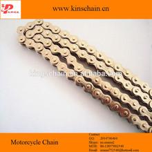 Best Gold 420 four side rivet motorcycle wheel chain