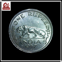 promotion ounce Indian old coins 1947 one rupee