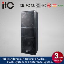 ITC TS-152 800W 4 ohm 15 inch Bass Boom 2.1 Speaker for Karaoke or Stadium