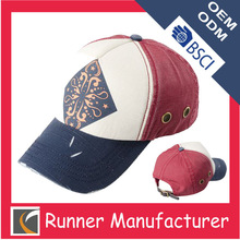 Customized printing design hat with recyclable material