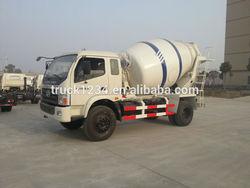 HOT SALE Cheap Price FOTON Forland 2-3CBM Small Concrete Mixer Truck
