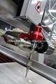 de mármol de chorro de agua de la máquina de corte cinco ejes de corte por chorro de agua