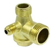 Wafer type cast iron globe screw down check valves