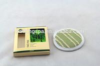 Hot selling flax hemp facial pads