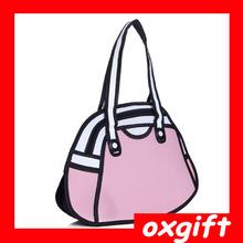 OXGIFT Fashion flower 3D bag women in handbag