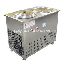 Convenience goods flat pan fried ice cream machine 2014 in China