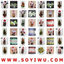InStock Clearance & FreeSamples & Fashion Jewelry Crystal Christmas Ornaments from Yiwu Market for CHRISTMAS