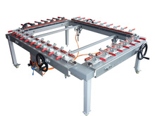 Factory supply pneumatic pull network device for screen frames making