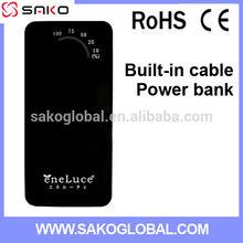 High Quality Japan Power Bank Mobile phone Micro USB Charger 5200 mah Multi Charging