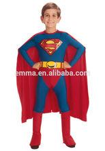 superman costume for kids spandex superman costume CC-1750