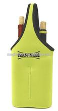 neoprene bottle sleeve double green