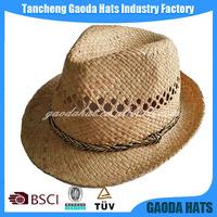 Cheap Fedora Men Designer Straw Hats