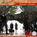 Los estados unidos caminar realista dinosaurio t-rex de vestuario