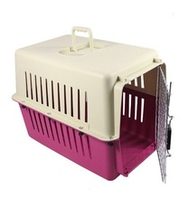 China 2014 new design wholesale plastic pet dog carrier