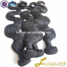 Never Tangle Virgin Human Hair virgin mongolian wet and wavy hair weave