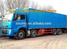 Sri Lanka FAW 8x4 Dry cargo van