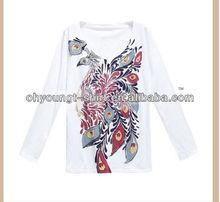 Long or short sleeve posh shirt with phoenix design wholesale China