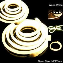 warm white neon flex led light 240V ,#LY-WH-240V-EWW