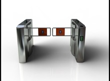 CE approved stainless steel turnstile access control system with factory price (A-SS303+)